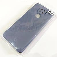 Чехол для Xiaomi Redmi Note 9 матовый Silicone Case Full Cover Macarons Color