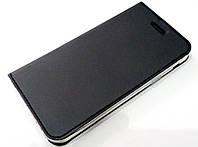 Чехол книжка KiwiS для Samsung Galaxy A7 a720 (2017) черный