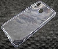Чехол для Samsung Galaxy M20 M205F силиконовый прозрачный