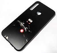 Чехол для Huawei P40 lite E PET matte print Железный человек