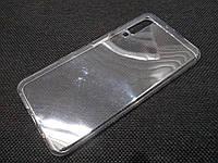Чехол для Samsung Galaxy A7 A750 (2018) силиконовый прозрачный