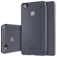 Чехол книжка Nillkin Sparkle Series для Huawei P9 Lite черный
