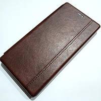 Чехол книжка Momax New для Samsung Galaxy Note 10 N970F Коричневый