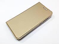 Чехол книжка KiwiS для Meizu U10 золотой