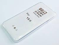 Чехол для Huawei Y5II / Y5 II / Y5-2 / Y5 2 силиконовый ультратонкий прозрачный