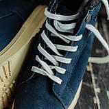 Мужские зимние ботинки South Navy Blue. Натуральная замша и мех. Премиум качество, фото 3