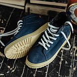 Мужские зимние ботинки South Navy Blue. Натуральная замша и мех. Премиум качество, фото 5