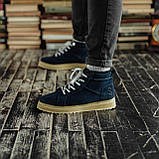 Мужские зимние ботинки South Navy Blue. Натуральная замша и мех. Премиум качество, фото 6