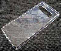 Чехол для Samsung Galaxy S10 G973F силиконовый прозрачный