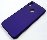 Чехол Silicone Cover для Huawei Y6 2019 фиолетовый