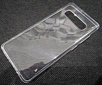 Чехол для Samsung Galaxy S10+ G975F силиконовый прозрачный