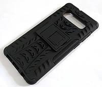 Чехол бампер противоударный бронированный TOTO Dazzle kickstand для Samsung Galaxy S10+ G975F черный