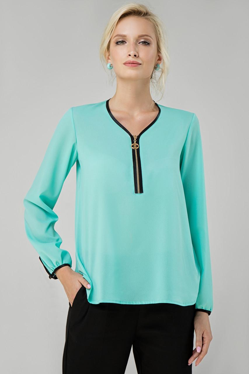Блуза мята Инга 48