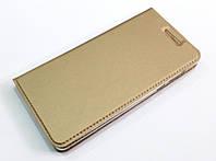 Чехол книжка KiwiS для Nokia 5 золотой