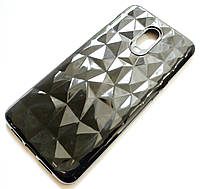 Чехол для OnePlus 6T силиконовый diamond черный