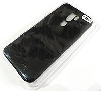 Чехол для Oppo A9 2020, Oppo A11x матовый Silicone Case Full Cover Macarons Color Черный