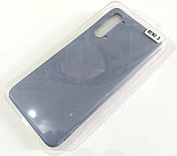 Чехол для Oppo Reno 3 матовый Silicone Case Full Cover Macarons Color