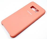 Чехол Silicone Case Cover для Samsung Galaxy S8 g950 розовый
