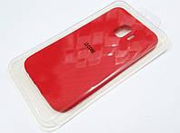 Чехол для Samsung Galaxy J2 Core J260 силиконовый Molan Cano Jelly Case матовый красный