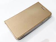 Чехол книжка KiwiS для Samsung Galaxy J2 Prime g532f золотой