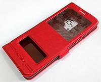 Чехол книжка с окошками momax для Samsung Galaxy S9 G960 красный