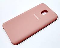 Чехол Silicone Case Cover для Samsung Galaxy J3 (2018) розовый
