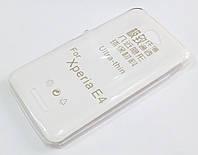 Чехол для Sony Xperia E4 dual E2115 силиконовый ультратонкий прозрачный