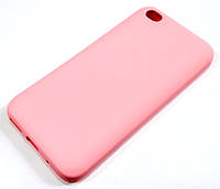 Чехол Silicone Cover для Xiaomi Redmi Go розовый