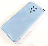 Чехол для Xiaomi Redmi K30 Pro матовый Silicone Case Full Cover Macarons Color