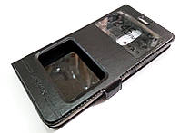 Чехол книжка с окошками momax для Xiaomi Redmi Note 3 / Redmi Note 3 Pro черный