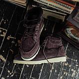 Мужские зимние ботинки South Indigo coffee. Натуральная замша и мех. Премиум качество, фото 2