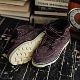 Мужские зимние ботинки South Indigo coffee. Натуральная замша и мех. Премиум качество, фото 3