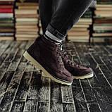 Мужские зимние ботинки South Indigo coffee. Натуральная замша и мех. Премиум качество, фото 7
