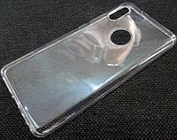 Чехол для Xiaomi Redmi Note 5 силиконовый прозрачный