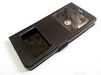 Чехол книжка с окошками momax для Xiaomi Redmi Note 5 черный