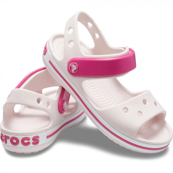 Сандалии детские Crocs Crocband Kids розовые J2/ 21.0 – 21.5 cм