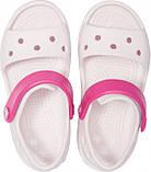 Сандалии детские Crocs Crocband Kids розовые J2/ 21.0 – 21.5 cм, фото 2