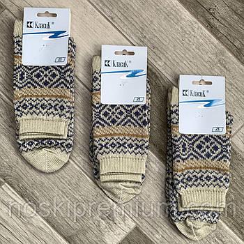 Шкарпетки жіночі напівшерстяні Класик, арт.15В-75, 25 розмір, полиново-джинсові, 05914