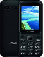 Мобильный телефон Nomi i2401+ Dual Sim Black, 2.4 (320x240) IPS / клавиатурный моноблок / ОЗУ 32 МБ / 32 МБ