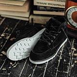 Чоловічі зимові черевики South Indigo black. Натуральна замша і хутро. Преміум якість, фото 2