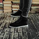 Мужские зимние ботинки South Indigo black. Натуральная замша и мех. Премиум качество, фото 3