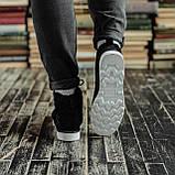 Чоловічі зимові черевики South Indigo black. Натуральна замша і хутро. Преміум якість, фото 4