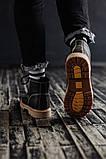 Чоловічі зимові черевики South Jaston black. Натуральна шкіра та хутро. Преміум якість, фото 3