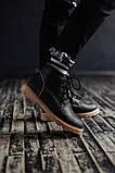 Чоловічі зимові черевики South Jaston black. Натуральна шкіра та хутро. Преміум якість, фото 5