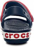 Детские сандалии Crocs Crocband Kids синие С7 / 14,0 – 14,5 см, фото 5
