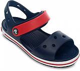 Детские сандалии Crocs Crocband Kids синие С7 / 14,0 – 14,5 см, фото 3