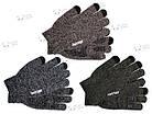 Зимние теплые перчатки iWinter для сенсорных экранов мужские женские Size М Коричневый / Белый (D-Z01) [1887], фото 2