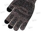 Зимние теплые перчатки iWinter для сенсорных экранов мужские женские Size М Коричневый / Белый (D-Z01) [1887], фото 4