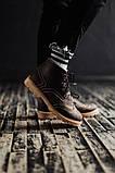 Чоловічі зимові черевики South Rebel brown. Натуральна шкіра та хутро. Преміум якість, фото 2