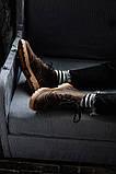 Чоловічі зимові черевики South Rebel brown. Натуральна шкіра та хутро. Преміум якість, фото 5